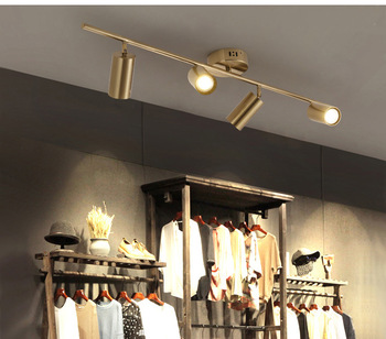Led Track Light Clothing Shop Windows Showrooms Exhibition Spotlight Cob Led Ceiling Rail Spot Lamp Traditional Collection Light
