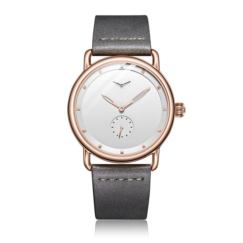 Casual watch men brand ONOLA quartz wristwatch simple waterpoor leather man watch Luxury watches 10