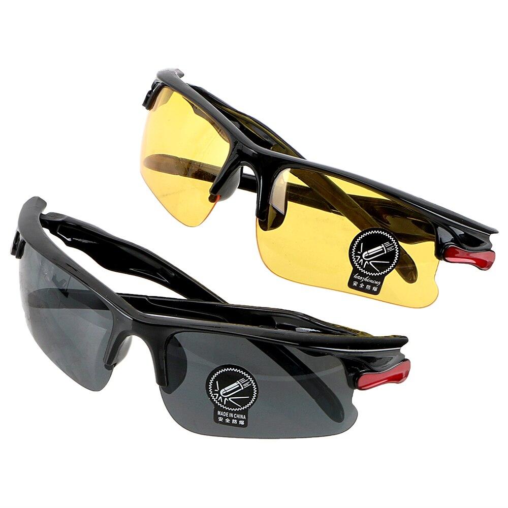 Night-Vision แว่นตา Gears ป้องกันแว่นตากันแดด Night Vision ไดรเวอร์แว่นตาแว่นตาอุปกรณ์เสริมภายใน Anti Glare
