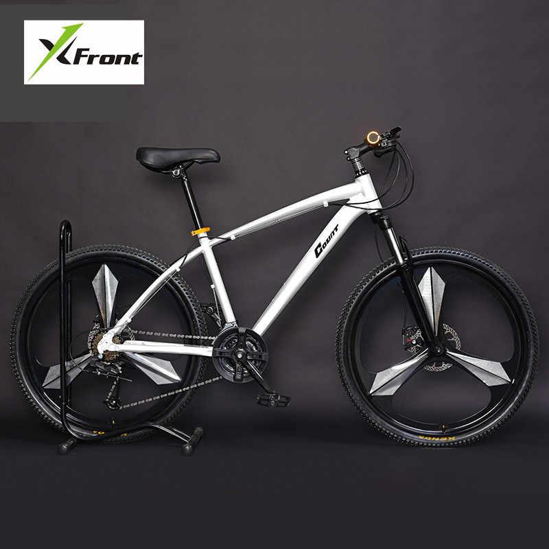 Nova Marca Mountain Bike Liga De Alumínio Quadro 24 27 30 Velocidade Freio A Disco MTB Downhill Bicicleta Esportes Ao Ar Livre Bicicleta