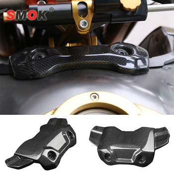 SMOK For Yamaha MT-09 FZ-09 MT 09 MT09 FZ 09 FZ09 2014-2017 Motorcycle Accessories Carbon Fiber Front Tank Cover Protector