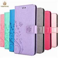 Lederen Portemonnee Telefoon Case Voor Huawei Psmart 2021 P8 P9 Lite Y7 Pro 2019 Y7A P30 P40 Lite Honor 8A 10X Lite Flip Stand Zakken Cover