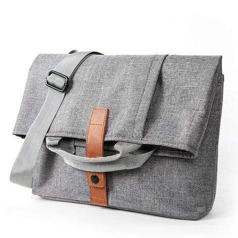 Men Bag Casual Grey Lightweight Oxford 9.7 iPad Tablet Crossbody Bag Male Small Messenger Bag Fashion Bagpack Pakistan