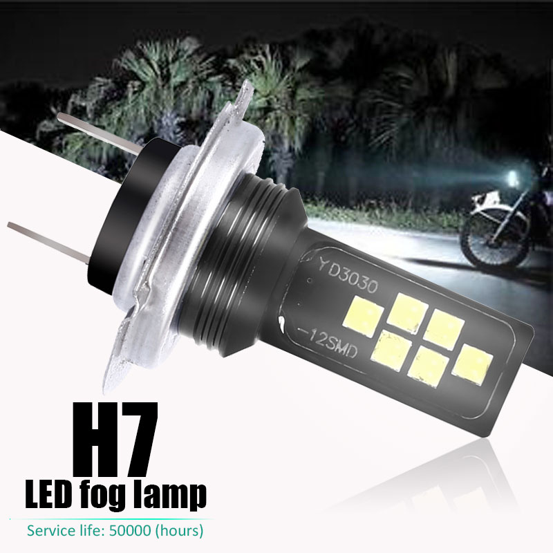 Vehemo Fog <font><b>Light</b></font> Headlight Motorcycle H7 <font><b>H4</b></font> P15D Motorbike Car <font><b>Led</b></font> Headlight Auto 6000k Lamp <font><b>Bulbs</b></font> image