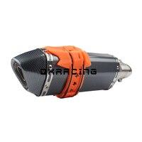 Universal protetor de escape da motocicleta capa guarda anti-quente para yamaha yz250 yz250f yz400f yz426f yz450f wr250 wr450f 250-450cc