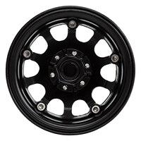 "INJORA 249g/pcs Heavy 2.2"" Beadlock Metal Wheel Rim for 1/10 RC Crawler Car Axial SCX10 90046 Wraith RR10 Traxxas TRX-6 5"