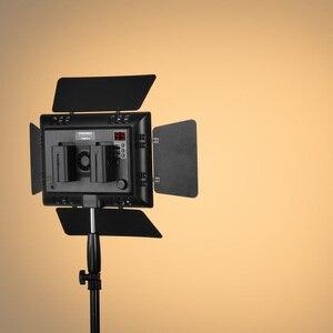 Image 5 - YONGNUO YN600L II YN600L II 600 LED Video Light Panel 3200 5500K + charger+NP F550 battery+AC Power Adapter