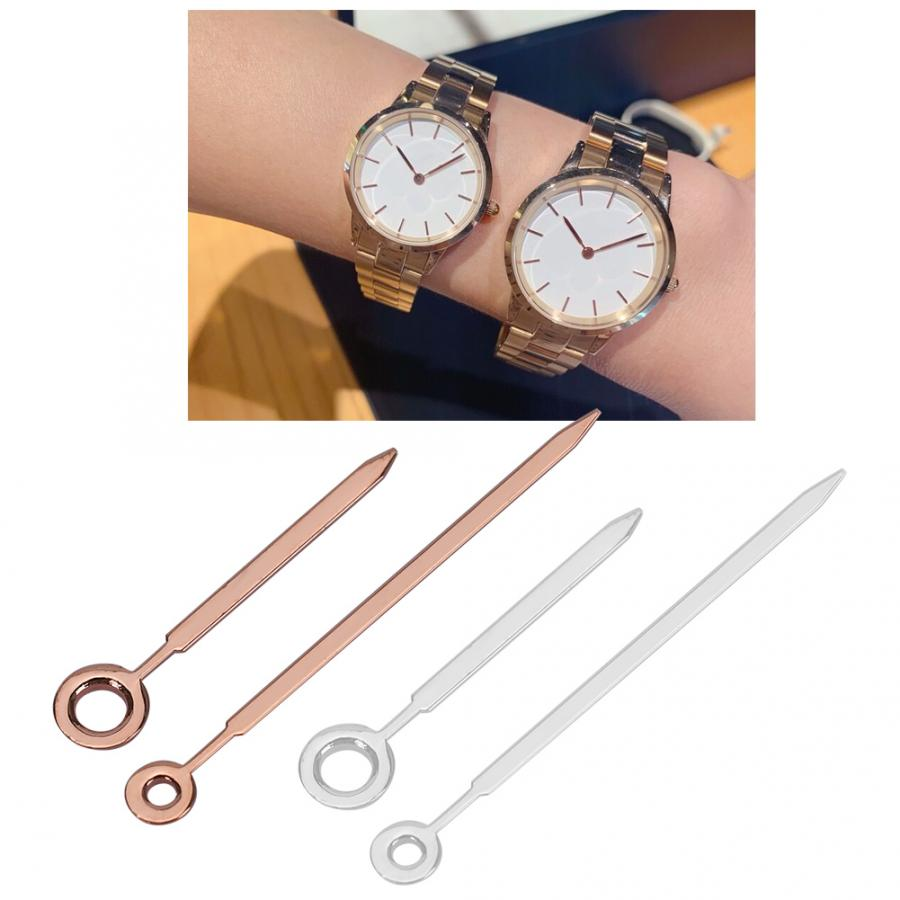 Watch Repair Tool 2Set Watch Hour Minute Hands Watch Accessory Fit for DW GL20 Movement Gold + Silver watch tool kit
