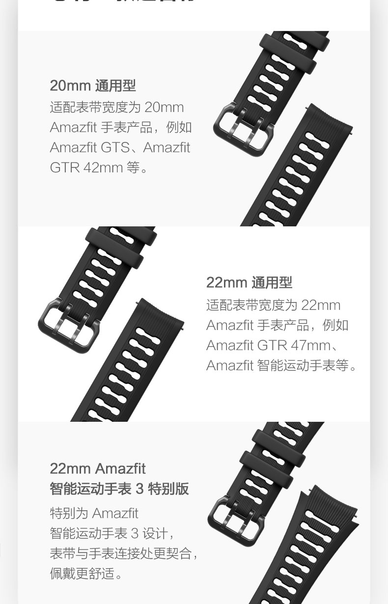 Pulseira de relógio original 22mm 20mm (largura)
