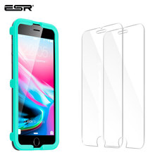 ESR 2pcs Screen Protector for iPhone XR 11 X XS 11Pro XS Max 8/7/6s/6 Plus Tempered Glass Protector Screen Film for iPhone 7plus