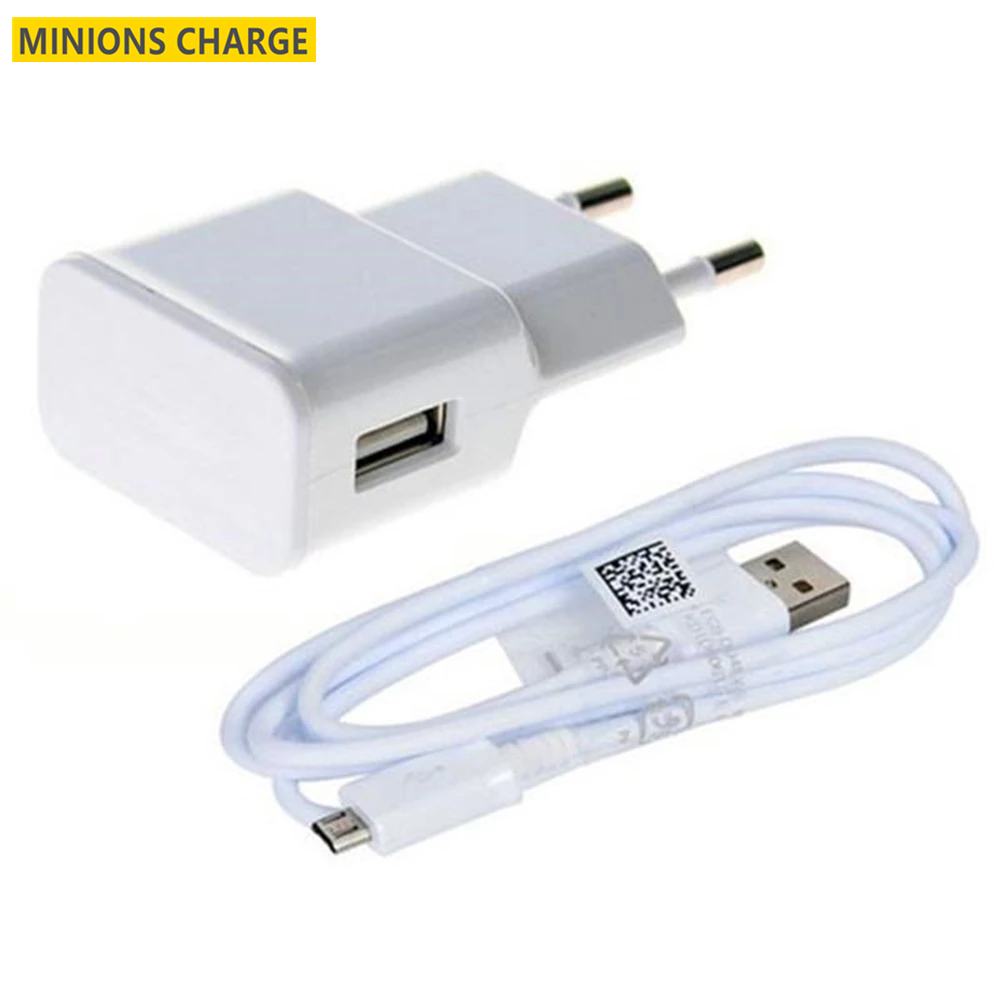 For Samsung s3 s4 J3 2016 J5 J7 2017 J6 A6 A7 2018 Redmi 5a 6 Note 5 pro Phone Micro usb cable + EU US Plug USB Charger Adapter
