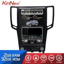 """KiriNavi de pantalla Vertical Tesla estilo Android 8,1 de 12,1 """"Radio de coche GPS navegación para Infiniti G37 G35 G25 G37S Coche dvd Multimedia"""