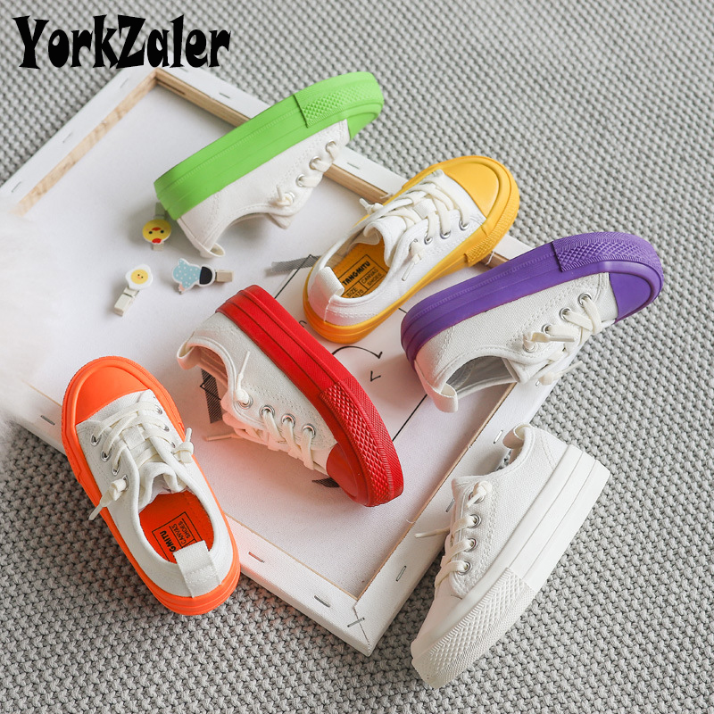 Yorkzaler Spring Autumn Children Canvas Shoes Classical Waterproof Kids Sneakers Casual Girl Shoes Baby Sport Shoes Footwear