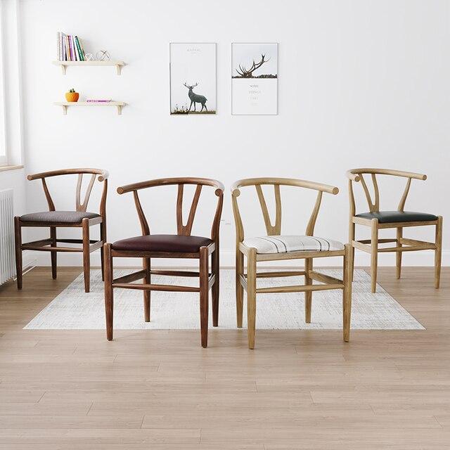 Nordic Modern Minimalist Dining Chair  6