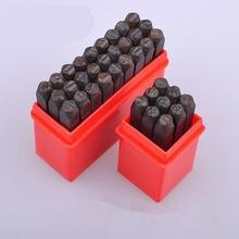 Металлические инструменты для кожи набор перфораторов 5 мм 8