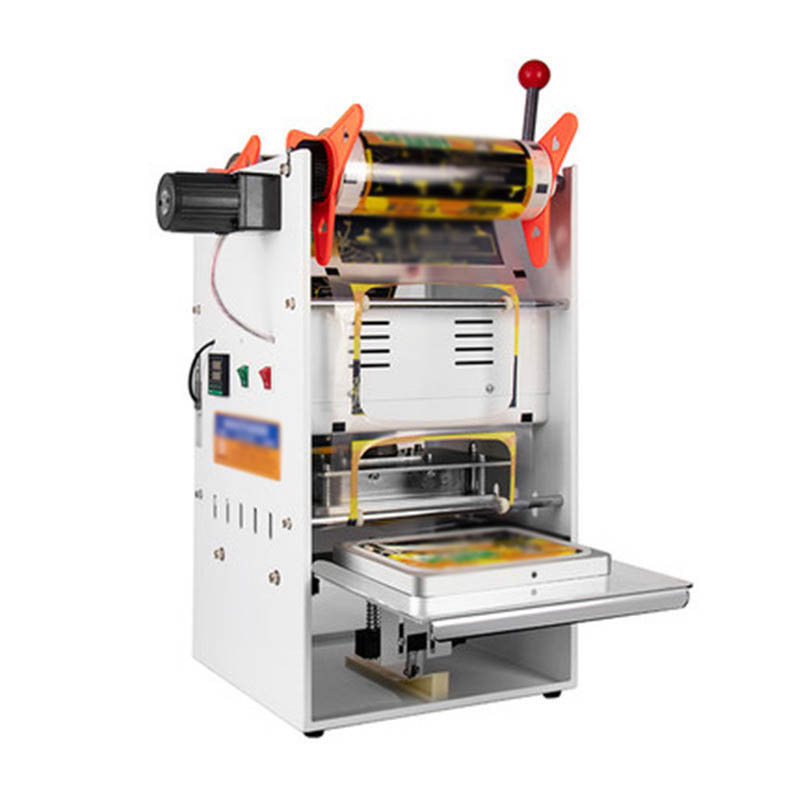 One-time Fast Food Box Packing Machine Commercial Food Hand Pressure Semi-automatic Plastic Box Sealing Machine