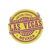 SZWL, pegatinas para coches de Las Vegas, USA, Nevada, accesorios a prueba de agua, gráficos, Logo de cómic, vinilo, maletero RV VAN 3D JDM,13cm * 12cm