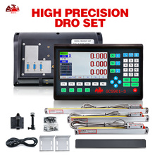 LCD DRO Linear-Scales HXX Digital Milling 3axis Readout-Display Lathe-Machine GCS901-3