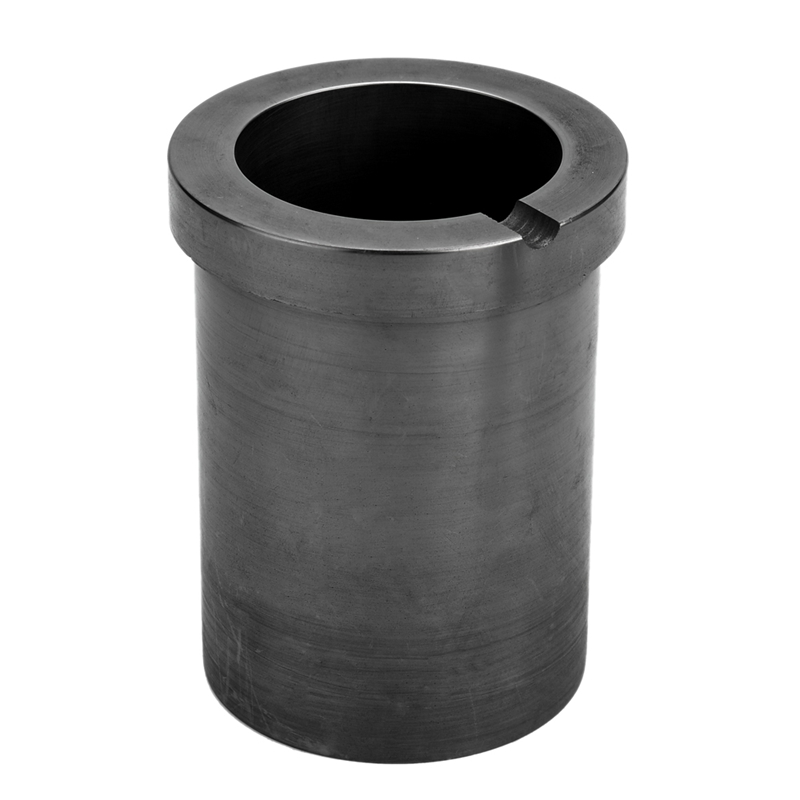 High-Purity Melting Graphite Crucible Good Heat Transfer Performance For High-Temperature Gold And Silver Metal Smelting Tools
