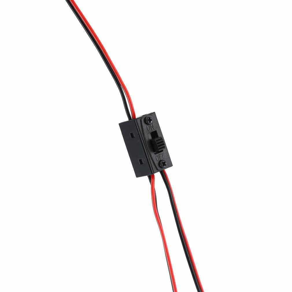Uzaktan kumanda uçak uçak RC alıcısı Set kırmızı ve siyah üç telli küçük anahtarı 2/3 yollu On/Off servo tel anahtarı
