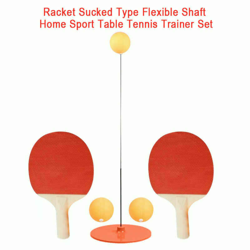 Portable Table Tennis Trainer Table Tennis Soft Shaft Training Machine Elasticity Kid Adult Ping Pong Practice Trainer Fi 3 ord