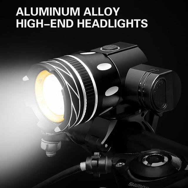 Фото фонарь велосипедный с usb 300 лм t6 цена