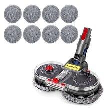 Electric Wet & Dry Mop Cleaning Head Mop Floor Head Brush For Dyson V7 V8 V10 V11 Wireless
