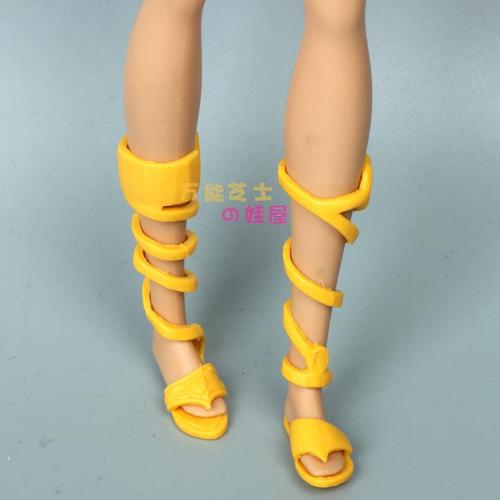 Doll Shoes Mix style High Heels Sandals Boots Colorful Assorted Shoes Accessories For Barbie Doll Baby Xmas DIY Toy 20