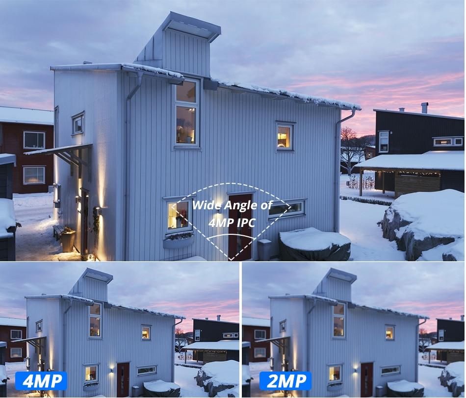 H600df4fe693d49f79e1e665482d7c97cQ Hiseeu H.265 Audio Security IP Camera POE 4MP ONVIF Outdoor Waterproof IP66 CCTV Camera P2P Video Surveillance Home for POE NVR