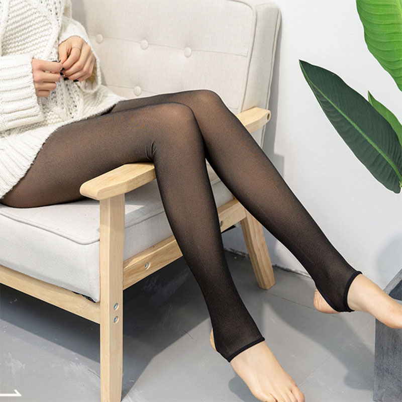 Image 3 - 2019 Leggings Women Thick Legins Through The Meat Warm Pants Women's Leggings Warm Mesh Leggins For Womens Winter Clothes-in Leggings from Women's Clothing