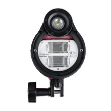 Stroboscope Flash étanche ST 100 Pro pour A6500 A6000 A7 II RX100 I/II/ III/IV/V boîtiers de caméra sous marine