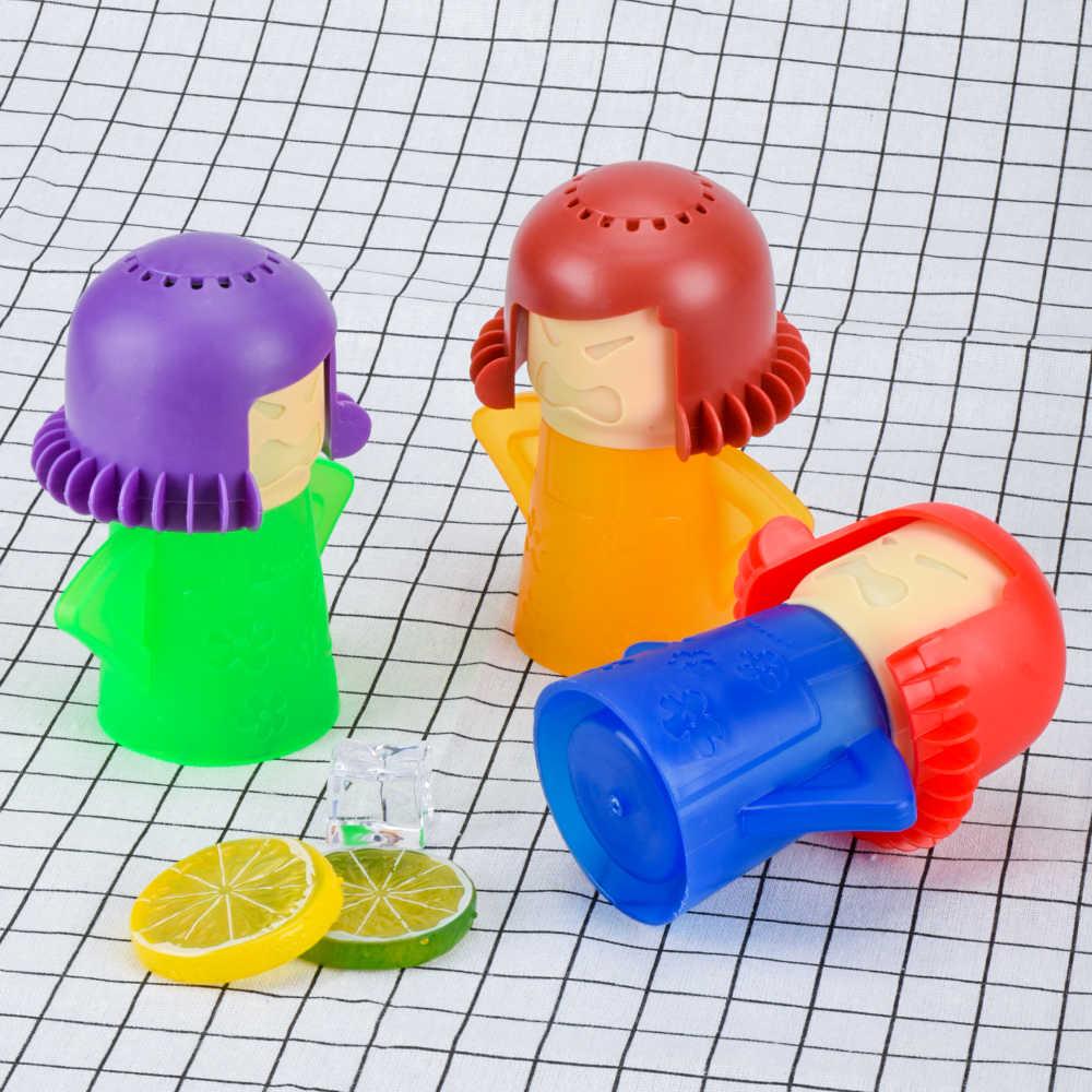 電子レンジクリーナー電子レンジ蒸気 2020 クリエイティブクリーナー家電用冷蔵庫洗浄ツールドロップシッピング