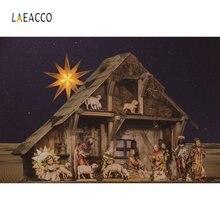 Laeacco детская кроватка noel's day care Рождество Сцена