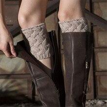 1 пара, женские теплые носки-носки с бамбуковой оплеткой