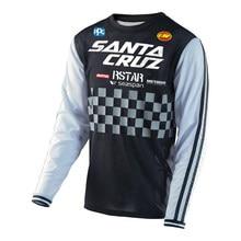 Mallot Ciclismo manches longues maillot cyclisme homme séchage rapide maillot moto Mx vtt maillot Enduro