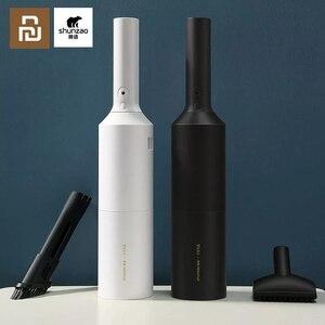 Image 1 - Original Youpin Sunzao Auto Staubsauger Tragbare Wireless Handheld Auto Staubsauger Roboter für Auto Innen & Hause Reinigung