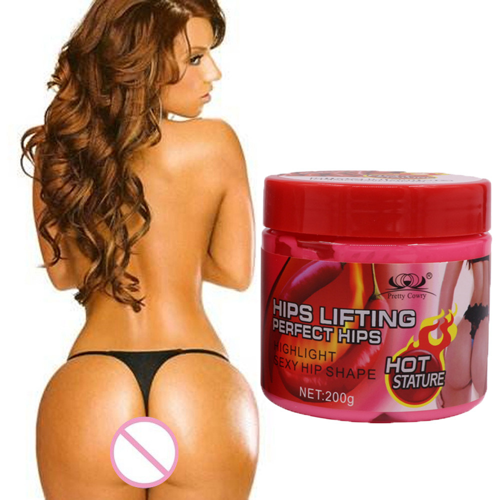 Buttock Enhancement Massage Cream Hip Lift Up Butt Firm Skin Enlargement Eradicate Black Lines Hips Buttock Tight Remove Celluli
