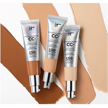 hot sale It Cosmetics CC+ Cream SPF50 Full Cover Medium Light Base Liquid Foundation Makeup Whitening Your Skin But Better