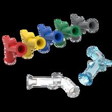 Buildmoc tijolos 2562 mosquete para blocos de construção peças diy construção presente natal brinquedos