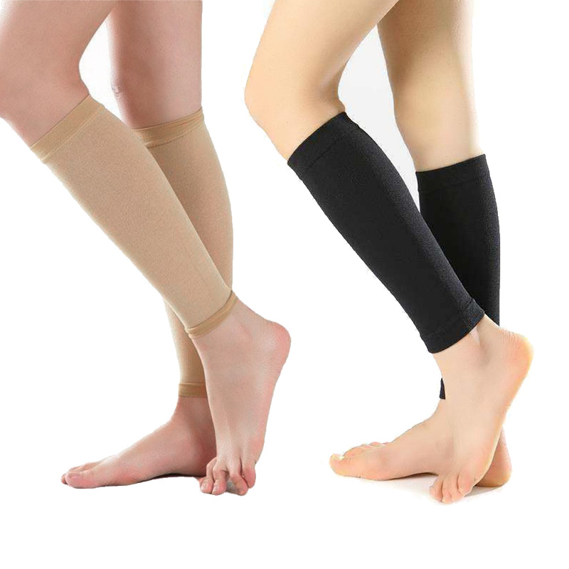 1Pair Antifatigue Compression Stockings Unisex Prevent Varicose Veins Knee Socks Pantyhose Supports Leg Stocking