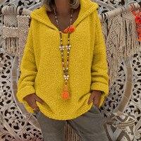 Women's Sweater Ladies Tops Autumn Knitted Sweatshirt Fashion Winter Long Sleeve Outerwear thumbnail