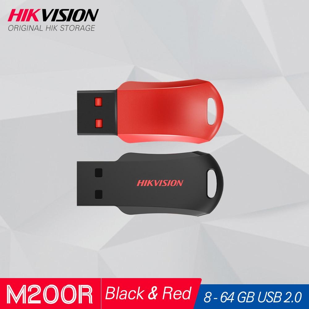 Hikvision Original USB Flash Drive 8GB 16GB 32GB 64GB Mini Pen Drive USB2.0 Tiny Pendrive Memory Stick Storage #M200R|USB Flash Drives| - AliExpress