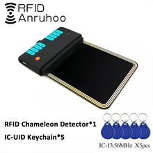 RFID Proxmark3 Chameleon Detection Card Reader NFC Full Encryption Cracking 13.56Mhz Duplicator Smart Chip S50 1K Card Writer