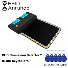 RFID Proxmark3 Хамелеон обнаружения кард-ридер NFC полный Шифрование трещин 13,56 копировальный аппарат Mhz смарт-чип S50 1K Card Reader Писатель