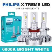 Headlights-Kits Ultinon H11 Philips X-Treme Auto-Fog-Lamps LED 6000K H7 12V 200%Brighter