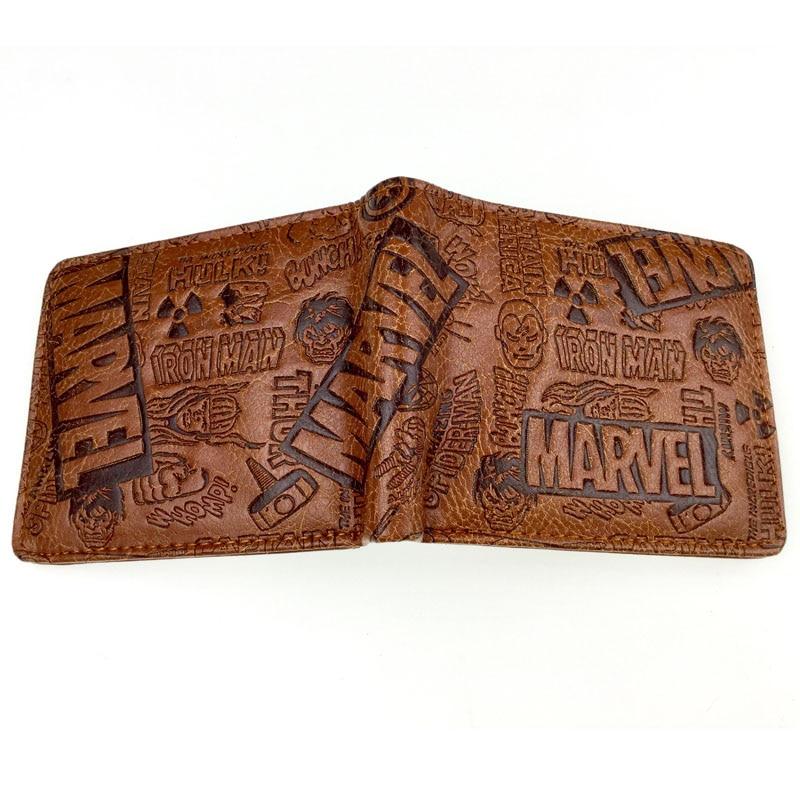 The Batman Joker Wallet Short Faux Leather Zip Purse ID//Credit Card Holder