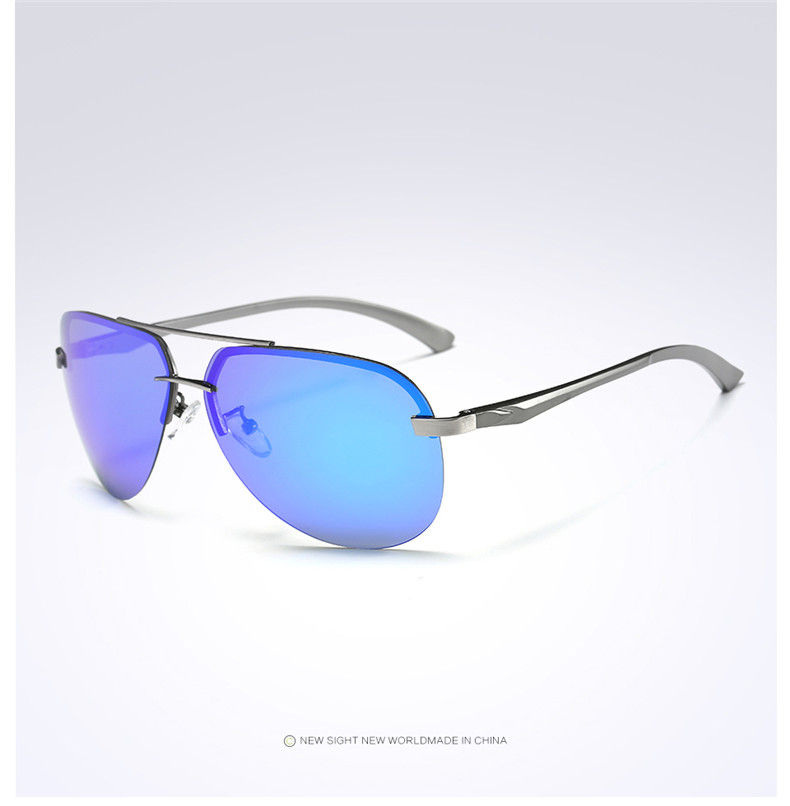 H6010201280f145e29ad7fcde033d82c3J - New Alloy Frame Classic Driver Men Sunglasses Polarized Coating Mirror Frame Eyewear aviation Sun Glasses For Women