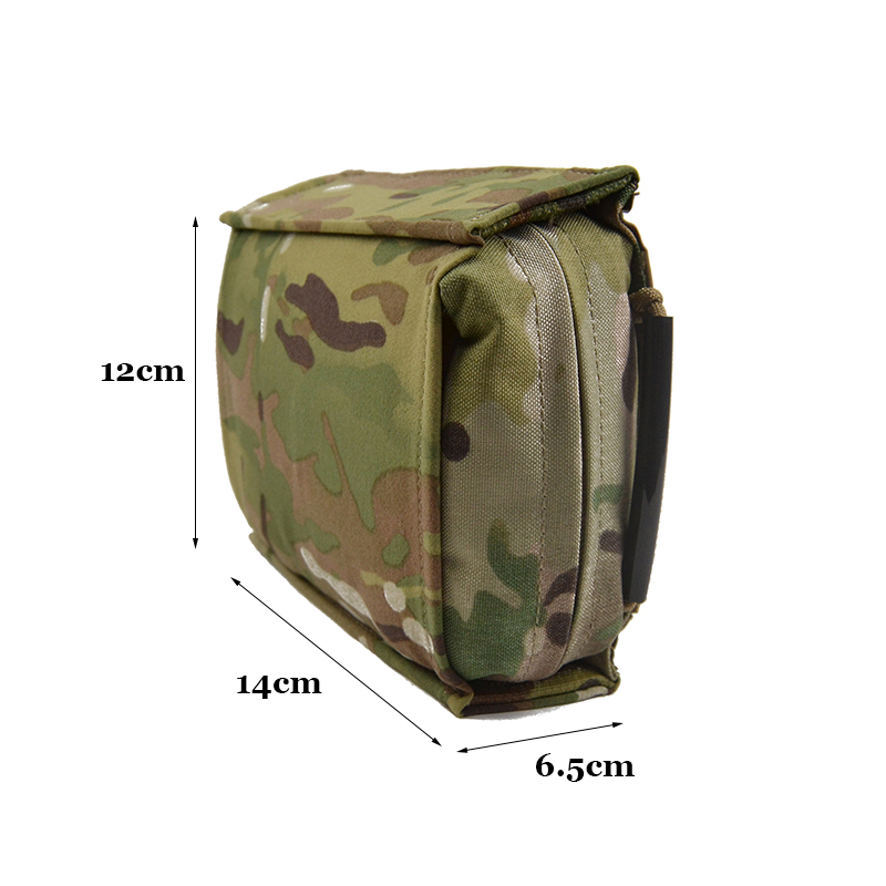Delustered MAY Low Vis Blow Out Kit IFAK Trauma Medical First Aid Kit Pouch EMT Pouch Hunting Camping Tactical Hike TW P054|Hunting Bags| |  - title=