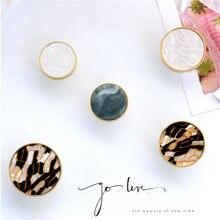 Kolorowe ciągnie klamka kuchnia nowoczesne meble uchwyty mosiężna okrągła gałka szuflada szafki Pull szafka ścienna wieszaczki