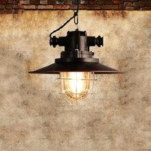 Американский Ретро подвесной светильник в стиле лофт винтажная